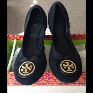 AUTHENTIC TORY BURCH BALLET FLATS-LIKE NEW! SZ 10