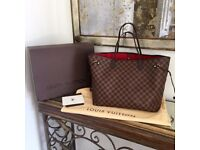 Louis Vuitton Neverfull Designer Bag Clutch Bag Travel Bag Holiday Bag Wallet Purse