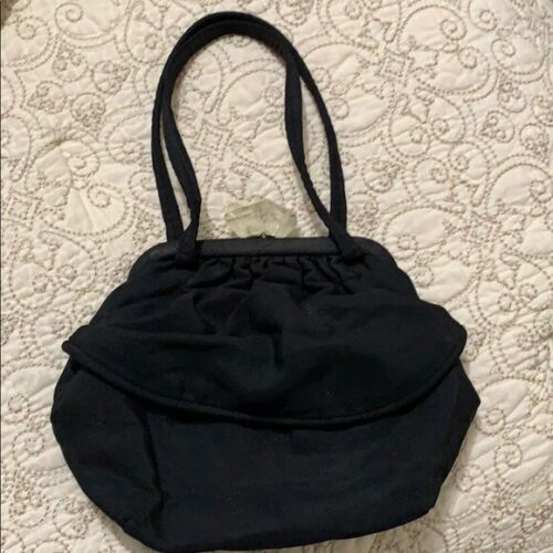 Leather black Bag  preowned
