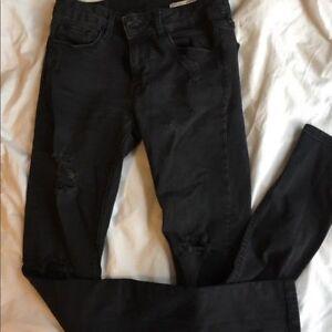 Zara Distressed Skinny Jeans