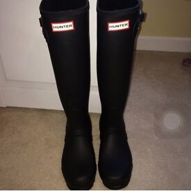 WOMEN'S ORIGINAL BACK ADJUSTABLE WELLINGTON BOOTS-- Size 9 UK £70