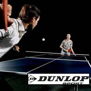 NEW* DUNLOP TABLE TENNIS TABLE - 118451517 - 9' x 5' TOURNAMENT SIZE - BLUE - PING PONG BEER PADDLE PADDLES SPORT REC...