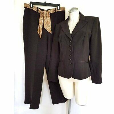 NWOT Dressbarn Size 12 Brown Pant Suit