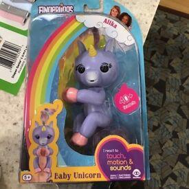 unicorn fingerlings