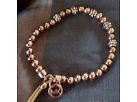 michael kors rose gold womens bracelet