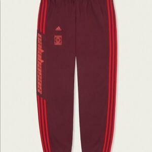 Yeezy Calabasas Track Pant Maroon Size Small DS