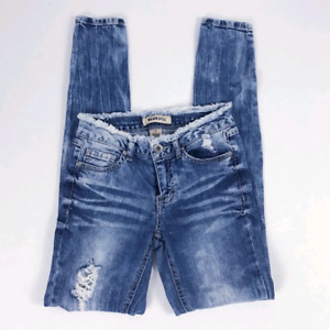 Small Size 1  Distressed Skinny Jean's Destroyed Jeans