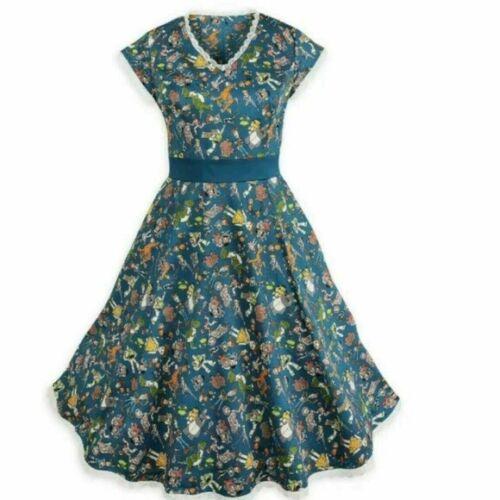 Disney Dress Shop Vintage Pixar Toy Story 4 Dress Blue Women
