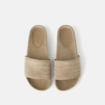 NWT Zara US 6.5 Velvet Sandals Ref 1681/001