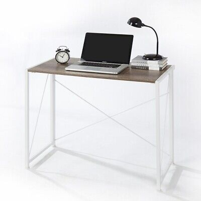 New Urban Shop Wooden Desk White Distressed Packaging