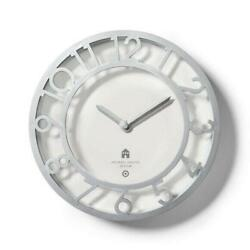Michael Graves for Target - 13.5 Silver Wall Clock