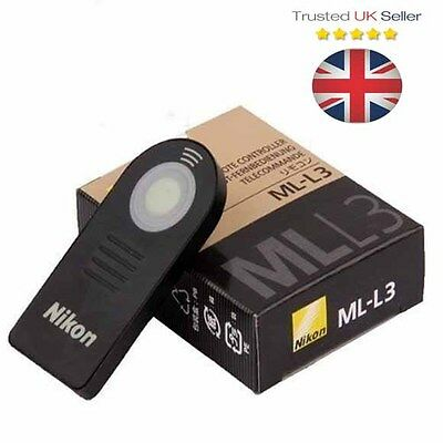 ML-L3 IR Wireless Remote Control for Nikon D3000 D3200 D5000 D5100 D40X D70 HQ