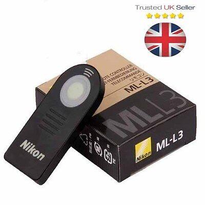 NIKON ML-L3 Infrared IR Wireless Remote Shutter Control D5300 D7000 D90