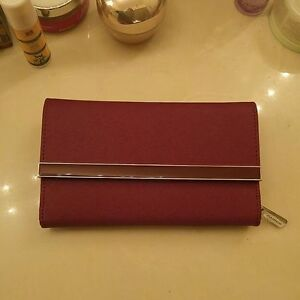 DANIER RED LEATHER WALLET