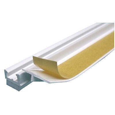 30x bauFIT Anputzleiste 9mm je 2,4m 72m Laibungsprofil PVC TOP APU Profil