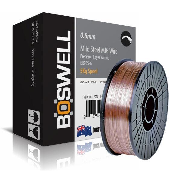 General Purpose ER70S-6-0.8mm x  5kg spool Steel MIG Welding Wire