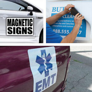 Car Magnets & Custom Magnetic Car Signs Affordable Prices