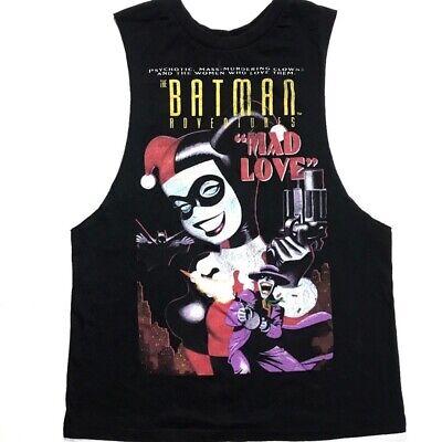 DC Comics Tank Top Batman Adventures Mad Love Harley Quinn Joker Shirt New