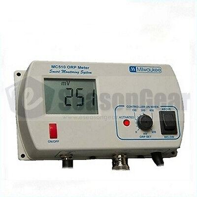 Milwaukee Orp Meter (Milwaukee MC510 ORP/MV Controller, Probe Included, 115V,)