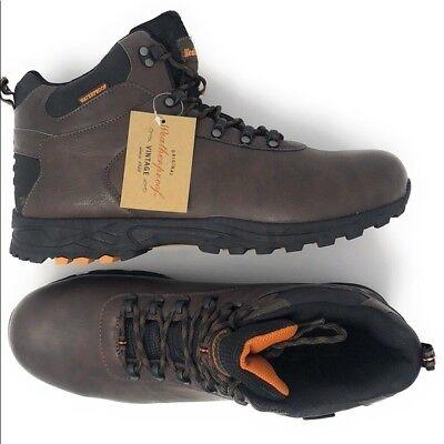 New, Brown Weatherproof Vintage Men's Boots Size 13