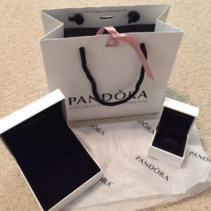 Pandora Bags, tissue paper, charm boxes and bracelet box
