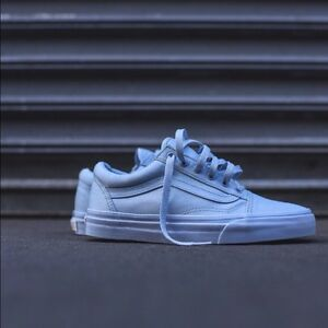 Vans Women's Old Skool Light Blue US 5.5