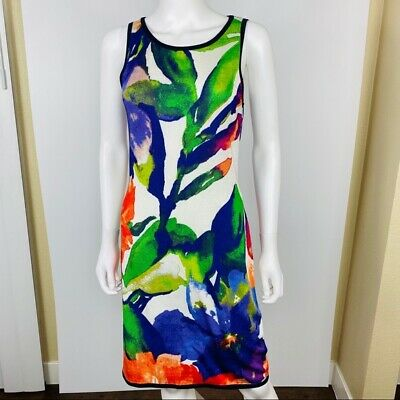 Ralph Lauren M Floral Knit Dress