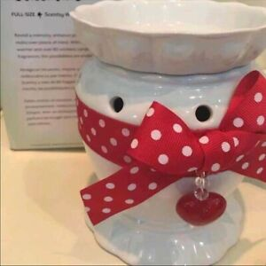 Scentsy valentines heart warmer