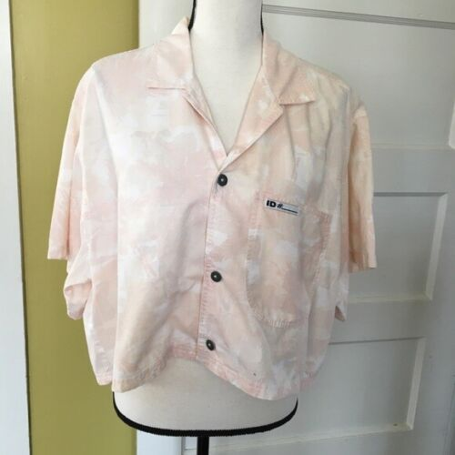 Vintage ID# Official Identification Registered Status Surfing Shirt Beach 1980