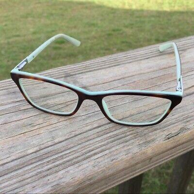 Ralph Lauren Womens Tortoise Shell Blue Rx Eyeglasses Frames Light Blue (Blue Tortoise Shell Glasses)