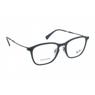 Ray - Ban Graphine Grau Rund Klar Linse Optisch Rahmen Unisex Designer Brille