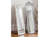 Tall full length floor standing mirror