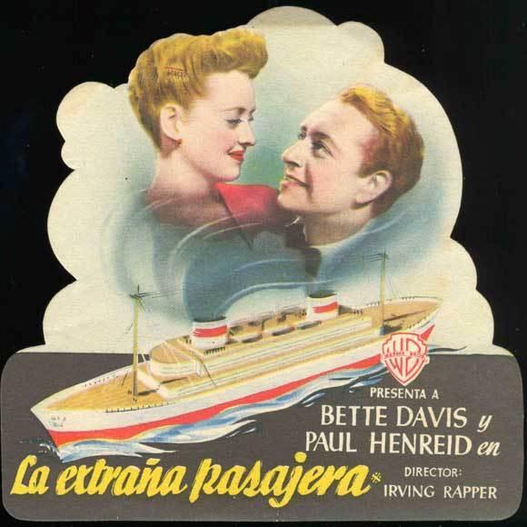 NOW, VOYAGER Movie POSTER 30x30 Bette Davis Gladys Cooper Claude Rains Paul