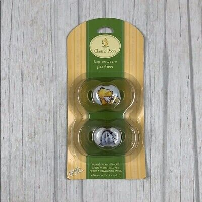 Vintage New in Package The first years Classic Pooh newborn pacifiers Set of 2