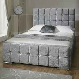 Crushed Velvet Frame Bed / Divan beds