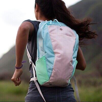 Lululemon Run Like A Gazelle Rare Backpack Beautiful color and unique design!!!