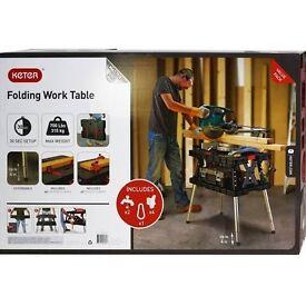 Keter Master Pro Folding Work Table