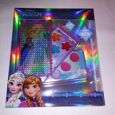 Frozen Makeup (Disney Kids Frozen Lip Gloss Cosmetic Gift Set Play Make Up)