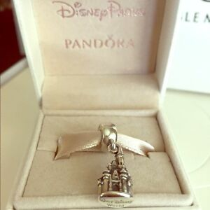 disney pandora castle charm