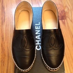 Brand New Leather Quality Chanel Espadrilles size 42