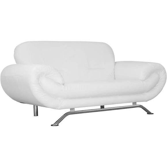 Nena 2 Seater Faux Leather Sofa