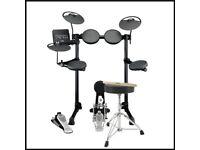 Yamaha dtx430k Digital Drum Kit + Stool + Sticks + Headphone (New-Still in box) 6yrs Guarantee