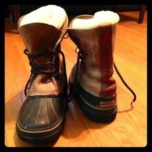 Bottes Sorel Cuir Homme Taille 9