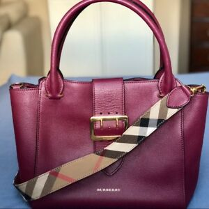 BURBERRY Medium Bag Buckle Tote Brand New ($600 discount )