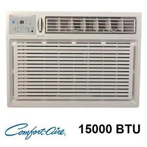 NEW* COMFORT AIRE 15000 BTU AC UNIT - 119736487 - AIR CONDITIONER REMOTE WHITE A/C UNITS CONDITIONERS HEATING COOLING...