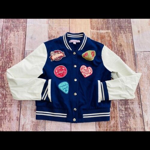 American Girl Tenney Grant Patch Varsity Jacket XS