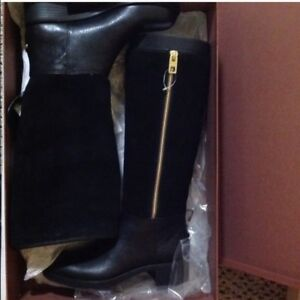 NEW COACH BAILEY KNEE HIGH BOOTS SIZE 6.5M