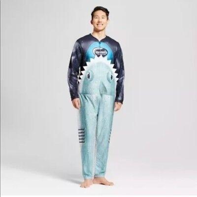 Briefly Stated Adult M Shark Suit Halloween Costume Medium Quinns Scuba Club - Shark Adult Costume
