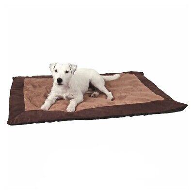 ECO perro cama prestigio descansando perro colocar colchón perro almohada perro marrón paw print