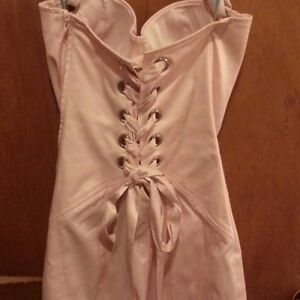 Guess Marciano Light pink halter corset dress Kingston Kingston Area image 2